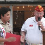John Marsh, Dept of FL Boy Scout Liaison & Michael J. Tamayo, 11.03.2012
