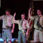 Richard J Guthie, Carson Schneider, Richard Burtin III, Troop #255, 11.01.2014