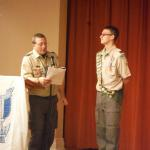Alllen Cottage, Troop #2, 03.24.2015 with Asst Scout Master Nick Evans