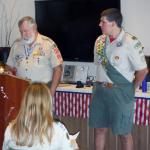 Christopher Peter Wallack with William Kocses 04.26.2015.  William is a founder and former Scout Master of Troop #951.