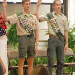 Nicholas Law [L] and Connor Jenkins [R}, Troop #165,  05.20.2017