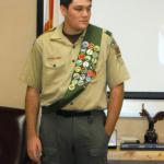 Kyle Badge, Troop #2001,  11.11.2017
