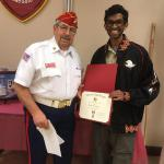 Abhijith Neelamchlil, 19 August, 2018, Troop #2001, with Mike Nurmikko