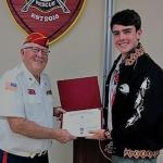 Joseph M Compitello, III, Troop #2001, 02.24.2019, with Eagle Scout Liaison, Jerry Van Heck