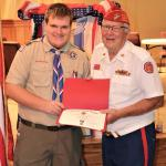 Tyler LaBreche, Troop #915, 04.06.2019 with Jerry Van Hecke, Detachment Eagle Scout Liaison