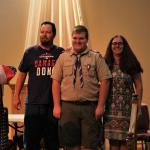 Tyler LaBreche, Troop #915, and Parents, 04.06.2019