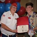 Charles T Meyer, Troop #951, with Jerry Van Hecke, Detachment Eagle Scout Liaison, 05.05.2019